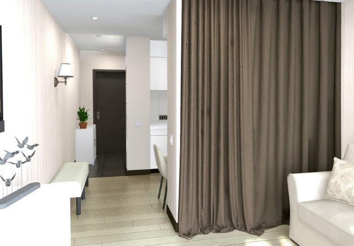 Шторы создают дома уютную атмосферу и выступают в качестве декора / Фото: pp.userapi.com