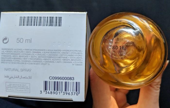 Серийный номер на коробке и флаконе совпадает/ Фото: aromo.ru