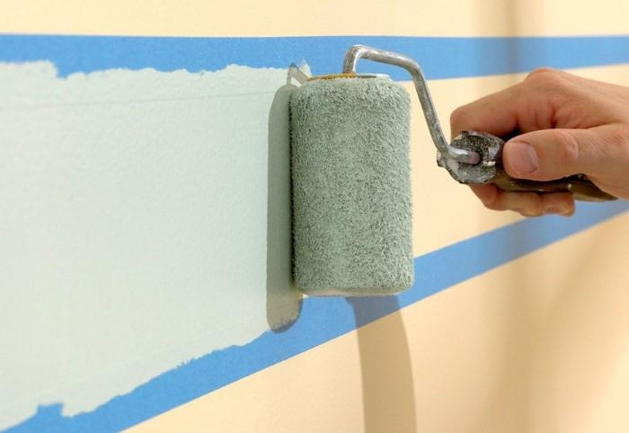 Скотч клеят на поверхность, чтобы защитить отдельные участки от окрашивания или использовать несколько цветов / Фото: sc02.alicdn.com