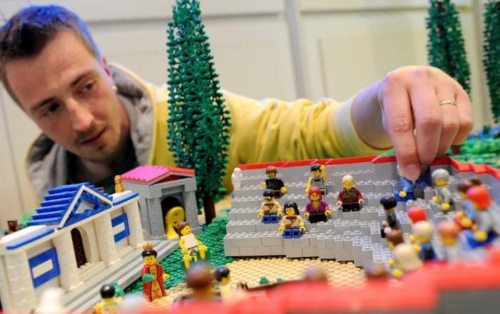 LEGO - любимая игрушка не только детей, но и взрослых