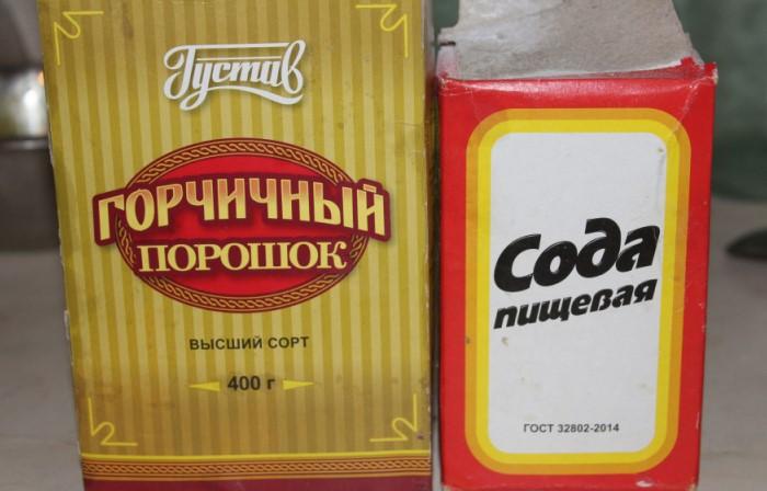 Смесь соды, горчицы и лимонного сока эффективно восстанавливает цвет и удаляет загрязнения / Фото: irecommend.ru