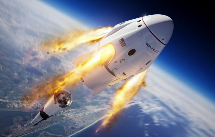 Национальное управление по аэронавтике и исследованию космического пространства (NASA) активно сотрудничает с частной компанией SpaceX / Фото: hsto.org