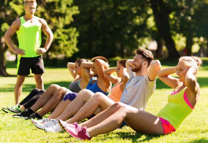 Занимайтесь спортом там, где удобно именно вам / Фото: gorodokboxing.com