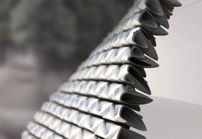 Фасадная стройоболочка не охлаждает, но обеспечивает стабильную циркуляцию воздуха / Фото: cdn.materialdistrict.com
