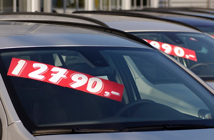 Совершенно идентичные машины могут стоить по-разному / Фото: clark.com