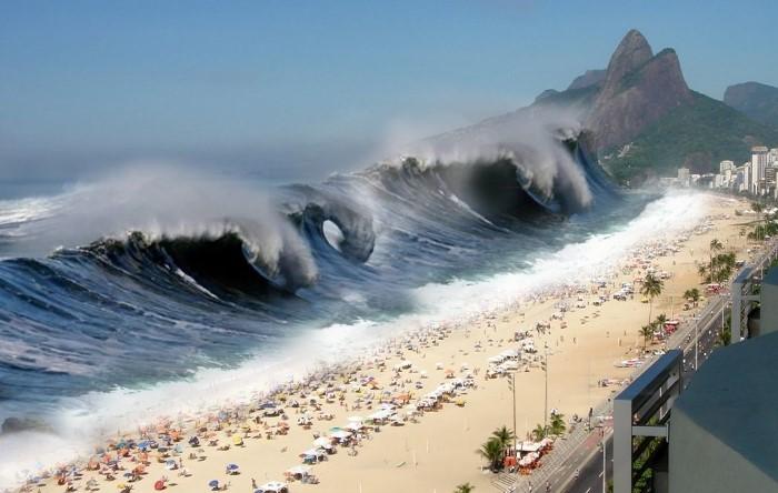 Вода может обнажить дно на несколько километров, став предвестницей цунами / Фото: znaj.ua