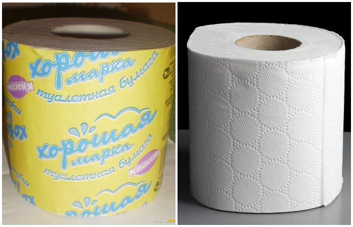 Двухслойная туалетная бумага более экономична в расходе