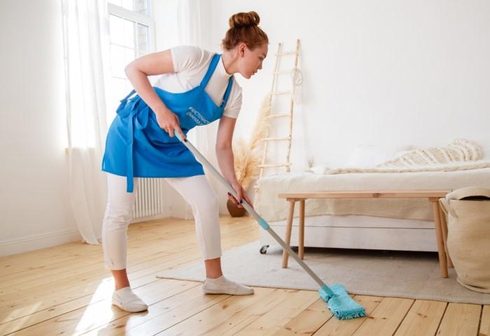 30 минут будет вполне достаточно, чтобы навести порядок, а потом наслаждаться чистой квартирой / Фото: cleaning.spb.ru