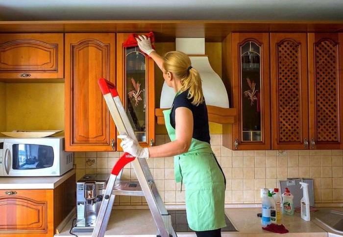 Регулярно мыть на кухне нужно не только мойку и рабочую поверхность
