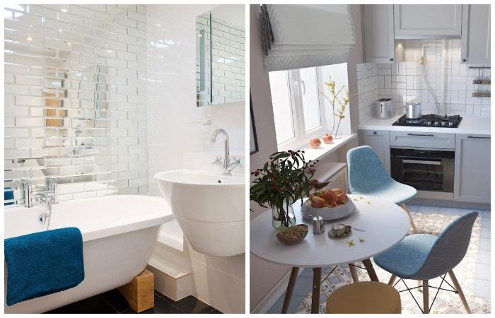 Ванная комната и кухня - излюбленные места сороконожек