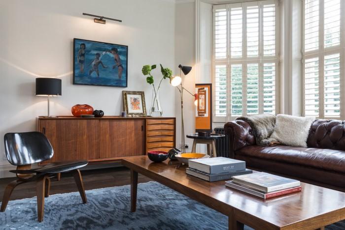 В таком случае «подружатся» даже винтажная мебель и ультрасовременные элементы декора или наоборот / Фото: static.tildacdn.com
