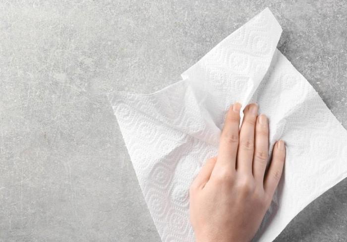 На абразивных поверхностях полотенце превратится в клочья / Фото: morgenweb.de