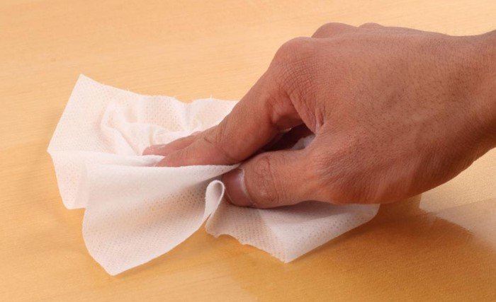 Возьмите за правило: новая салфетка для каждого отдельного предмета / Фото: fb.ru