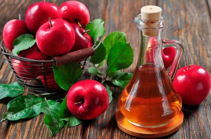 Яблочный уксус ускоряет регенерацию кожи / Фото: afrodita.guru