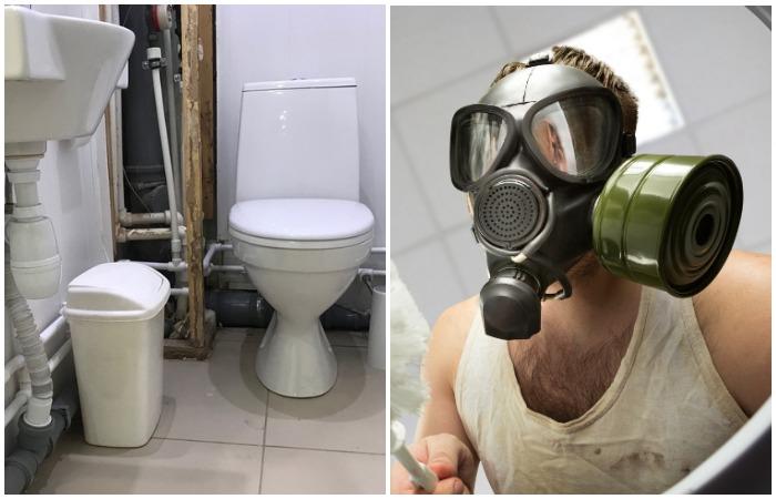 Запах из канализации доставляет массу неудобств