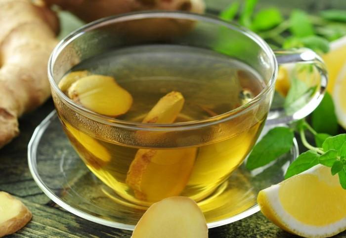 Зеленый чай с имбирем и медом также защитит от простуды / Фото: comfort-kitchen.ru