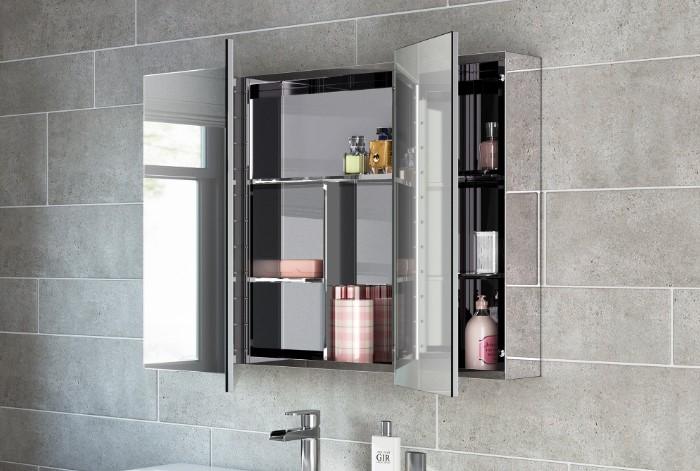 В таком зеркале удобно хранить вещи , чтобы сэкономить пространство / Фото: images-eu.ssl-images-amazon.com