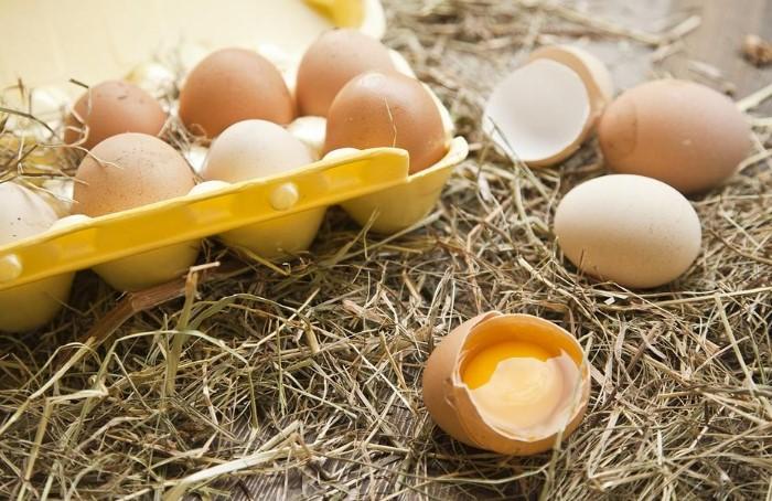 Какие яйца выбрать для новогодних салатов: белые или коричневые