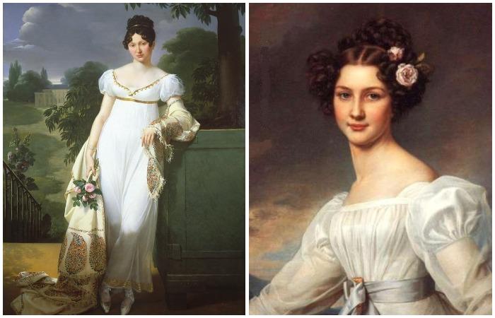 В XIX веке мода и критерии красоты менялись довольно стремительно
