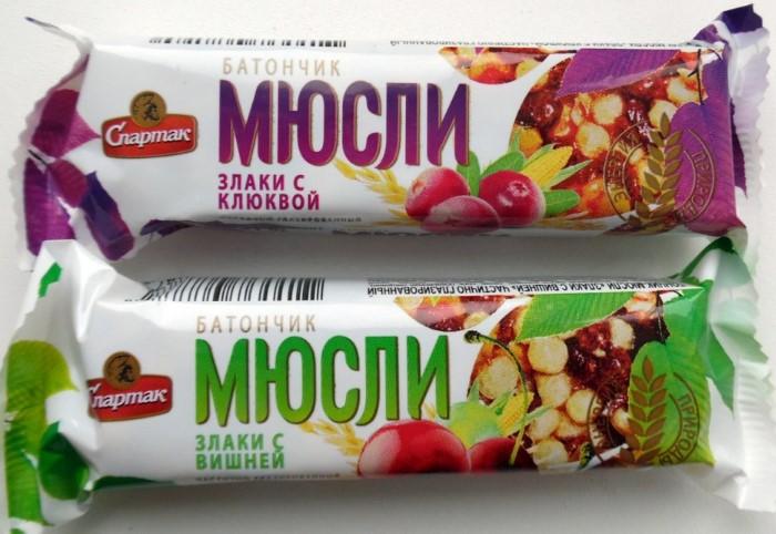 Злаковые батончики только разжигают аппетит / Фото: irecommend.ru