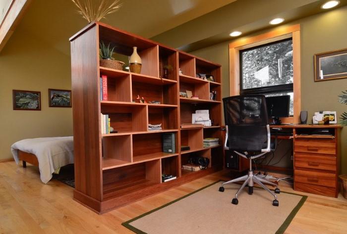 Если неправильно разделить пространство, комната станет еще меньше