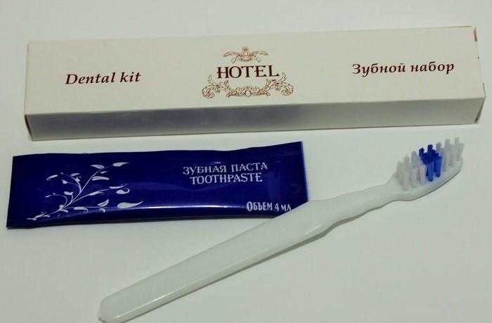 Если понравился зубной набор, заберите его домой / Фото: svservis.su