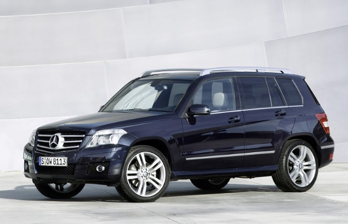 Mercedes-Benz GLK - один из самых надежных автомобилей в мире