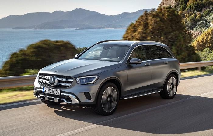 Mercedes GLC - качественный немецкий внедорожник