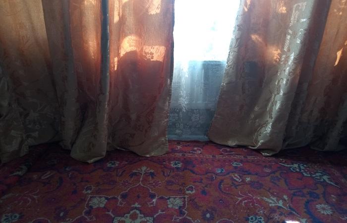 Ковер на полу и плотные шторы помогают удерживать тепло в квартире / Фото: novate.ru