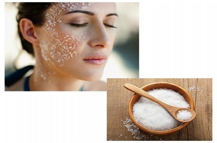 Соль используют в качестве скраба и маски для кожи тела, лица и волосистой части головы / Фото: hochu.ua