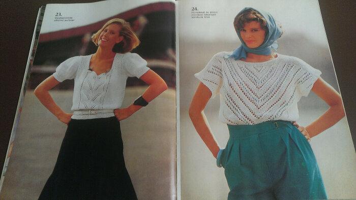 Ради того, чтобы выглядеть модно, советские женщины готовы были свободное время посвящать вязанию