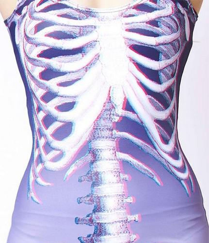 3D Ribs Dress – стереоплатье для оригинальных девушек