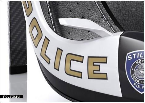 Туфли на страже правопорядка