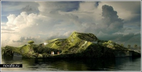 Плавучий SPA-остров