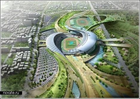 Буддийский стадион для Азиатских Игр