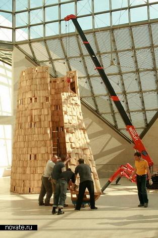 Деревянный Большой адронный коллайдер