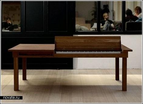 Рояль в столе