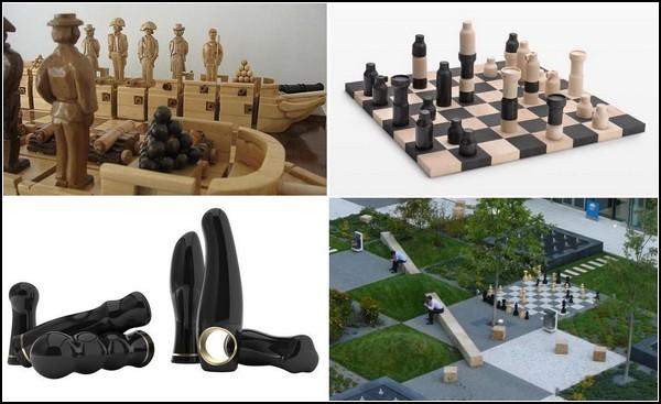 Самые необычные шахматные наборы