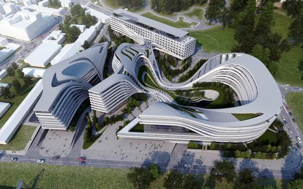 Многофункциональный комплекс Beko Master Plan от Захи Хадид