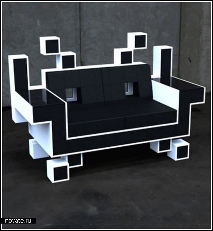 Space Invader Couch – космические захватчики в вашем диване