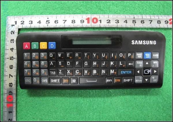 Пульт Samsung с QWERTY-клавиатурой для умных телевизоров