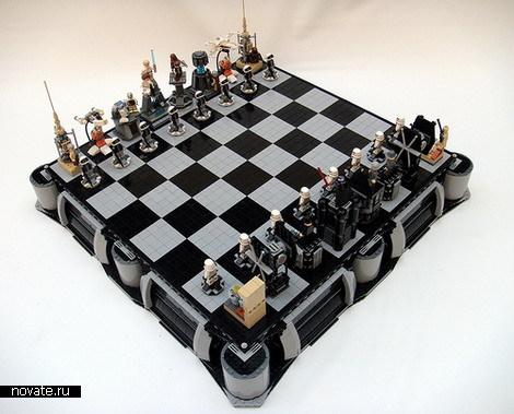 Шахматы из Звездных Войн