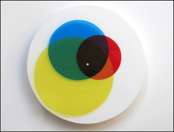 Круговые часы About-Time, напоминающие диаграмму Венна