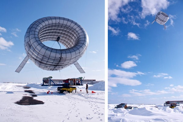 AWT от Altaeros Energies – летающая ветряная турбина