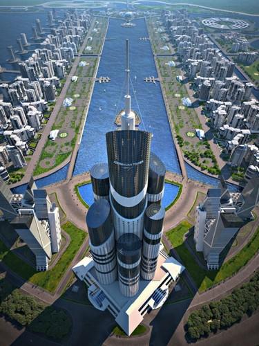 Azerbaijan Tower � ����� ������� ������ � ���� ��������