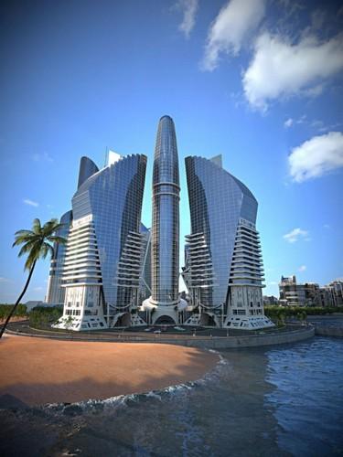 Azerbaijan Tower – самое высокое здание в мире будущего