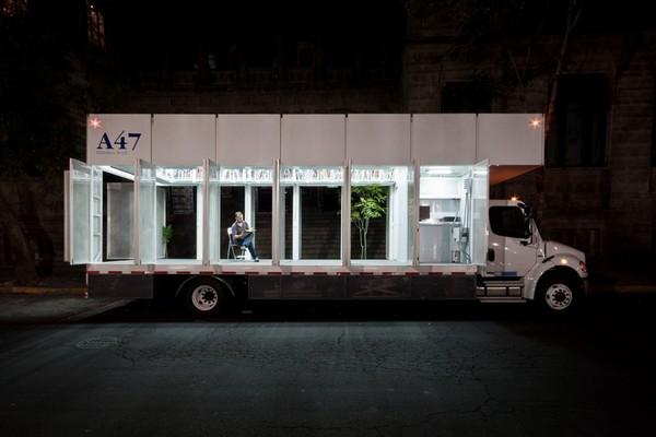 A47 — мобильная библиотека для Мехико