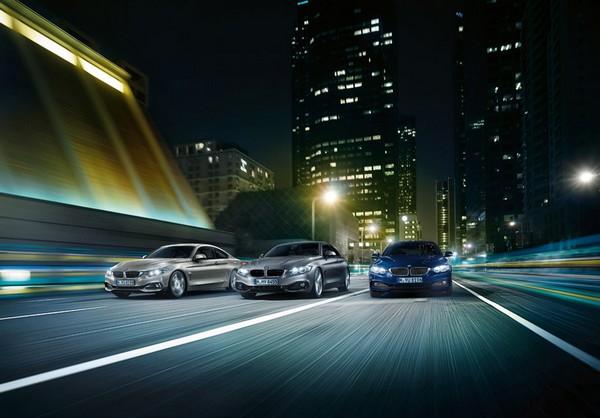 Автомобиль BMW купе 4 поколения