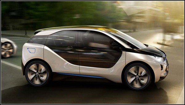 Гламурный электромобиль BMW i3