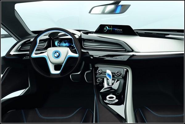 Гламурные электромобили BMW i3 и BMW i8